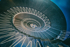 Vertigo I - Explore # 72 (**capture the essential**) Tags: 2017 architecture architektur fotowalk munich münchen sonya6300 sonyilce6300 spiral staircase stairs treppen treppenhaus zeisstouit2812 zeisstouitdistagon2812