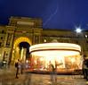 Rayo Carrusel (binladiya) Tags: sky people carrusel carrousel luces lights tormenta storm rayo thunderbolt florencia firenze italia italy europa europe night noche lluvia rain