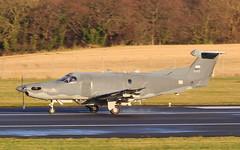10415 (GSairpics) Tags: 10415 pilatus pc12 u28 u28a usaf usafspecialoperations aircraft aeroplane airplane aviation mil military airport pik egpk prestwickairport ayrshire scotland