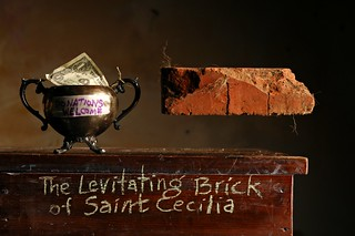 The Levitating Brick of Saint Cecilia