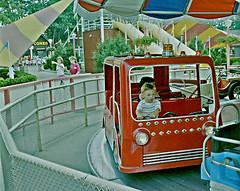 Six Flags Great Adventure Amusement Park (2 of 2) (gg1electrice60) Tags: sixflags greatadventure amusementpark jackson newjersey nj rides carnivalrides amusements jacksontownship namedafterandrewjackson oceancounty pinebarrens unitedstates usa us america umbrellaride firetruck children kids kiddierides myson carnivalride