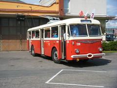 Pardubice 65th trolleybus anniversary (johnzebedee) Tags: trolleybus transport publictransport pardubice czechrepublic johnzebedee skoda skoda8tr