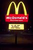 McDonald's sign (ezeiza) Tags: oklahoma ok sallisaw mcdonalds goldenarches golden arches fastfood fast food restaurant door sign night drivethrough drivethru drive through thru buttermilkcrispytenders buttermilk crispy tenders