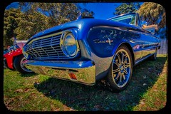 Ford Falcon (Thunder1203) Tags: cars classiccars customcars hdr hotrods luminar rosebudrockfest topazstudio aurorahdr canon carshows ononephotoraw photomatix lightroom topaz photoshop fordfalcon blueoval fordfalconsprint