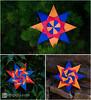 Corona Stars (Maria Sinayskaya) Tags: 10010 15cmdoublesided 2dorigamistar daiyoshiko folded kamipaperduocolorcolor mariasinayskaya modularorigami origami origamistar square мариясинайская