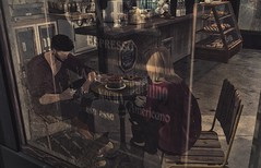 #SecondLifeChallenge - Let's Chat Over Some Coffee (CalebBryant) Tags: secondlife sl coffee cafe secondlifechallenge
