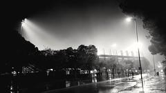 Stade de la mosson (srouve78) Tags: noiretblanc white black montpellier mosson stade night nuit