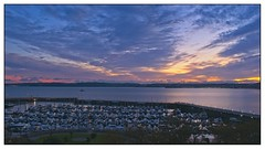 Sunset over Torquay (simondayuk) Tags: torquay torbay devon marina coastal sea sunset kitlens d5300 nikon