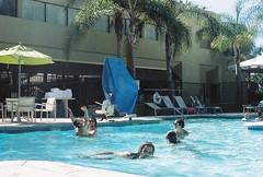 Stolen Pleasure (Caroline Kutchka Folger) Tags: lomography 35mm summer pool film la