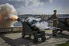 Midday Gun (walljim52) Tags: military history cannon ordnance uniform smoke flames soldier malta midday gun