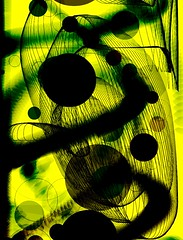 ink, sumi (heroyama) Tags: ink picture digital art black yellow color visualart painting drawing abstract