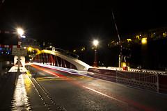 Newcastle Swing bridge light trails (Mark240590) Tags: