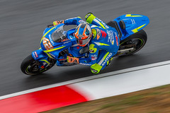 Motorcycle Grand Prix (BP Chua) Tags: álexrins spanish rider motorbike motorcycle motor motogp grandprix track race racer canon 1dx blue panning bike sepang circuit malaysia malaysian motorsport