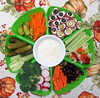 Pre-Thanksgiving Dinner Snack Tray (genesee_metcalfs) Tags: thanksgiving food appetizer veggies pickles peppers carrots celery radish olives broccoli hamrollups