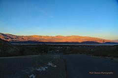 Early light over Furnace Creek (Walt Barnes) Tags: scenery nature desert mountain landscape clouds sky view vista texassprings sunrise dawn earlymorning morning daybreak daylight sunup breakofday morn dawning deathvalley furnacecreek calif canon eos 60d eos60d canoneos60d wdbones99 topazsoftware pse15