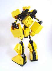 The Mighty Doop-Los Mk II (optimus-convoy) Tags: lego duplo super robot mecha remake rehash
