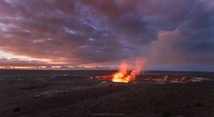 Kilauea (Bob Bowman Photography) Tags: kilauea volcano hawaii volcanoesnationalpark crater sunrise lava landscape bigisland 808 nikon