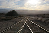 Into the Sun (Arrowhead Fan) Tags: pacific imperial railroad pir baja california ca sdae san diego arizona eastern impossible bjrr carrizo czry gorge