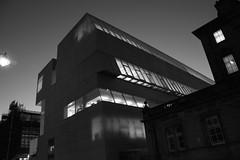 light leaks (334/365) (werewegian) Tags: school art glasgow building werewegian bw night nov17 architecture reid sky lines geometric monochrome 365the2017edition 3652017 day334 30nov17