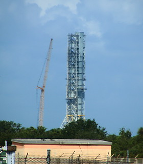 Launch Gantry - Kennedy Space Center, Florida