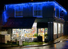 Eve's of Hay-on-Wye (@Eves_HayonWye). Hay on Wye, Powys, Wales, United Kingdom (Minoltakid) Tags: evesofhayonwye eveshayonwye hayonwye powys wales unitedkingdom uk cafe shop building lights festive eves nightshot nightphotography town smalltown street flickr tagged night outdoors 2017 greatbritain gb winter nighttime theminoltakid minoltakid rossdevans rossevans coffeehouse teahouse festivelights christmaslights