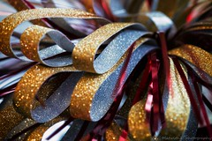 Christmas bow IMG_7573-1 (matwith1Tphotography) Tags: 7dwf matwith1t canon eos70d 70d 100mm macro macrophotography macromondays buttonsandbows christmasbow colorful