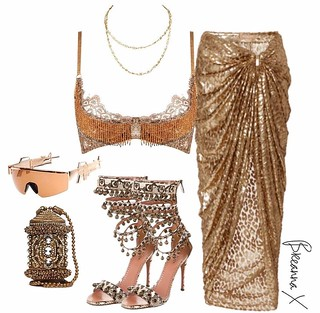 #fashion Extreme edgy glam look. See more at slay Network