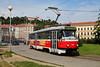 Tram lernen (trainspotter64) Tags: strasenbahn tram tramway tranvia streetcar lightrail tschechien brno brünn tatra t3 čkd