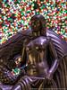 Maiden (20171209-DSC04290) (Michael.Lee.Pics.NYC) Tags: newyork rockefellercenter winter christmas holiday 2017 christmastree sculpture paulmanship mankind maiden bokeh sony a7rm2 fe24105mmf4g