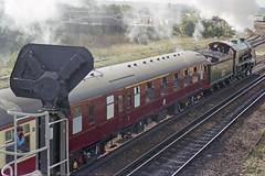 S15 828 at Eastleigh, 23 Sep 1995 (Ian D Nolan) Tags: railway eastleighstation 35mm epsonperfectionv750scanner s15 828 460z lswr sr railtour
