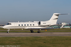 N102NY - 2005 build Gulfstream G450, rolling for departure on Runway 23L at Manchester (egcc) Tags: 4033 bizjet egcc eelpointaviation g450 gulfstream lightroom man manchester n102ny n404px n989ws ringway