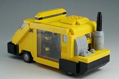 METROKAB_03 (kaba_and_son) Tags: blade runner metro cab lego bladerunner ブレードランナー レゴ メトロキャブ タクシー metrokab