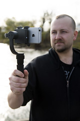 iphone6s iphone smartphone gimbal freeflightmoto fotodiox... (Photo: FotodioxPro on Flickr)