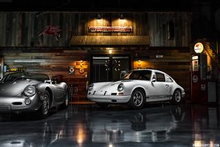 Porsche Man Cave