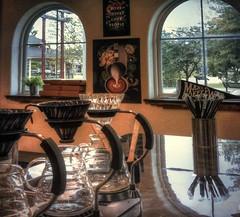 The Bar Windows (clarkcg photography) Tags: coffee pot craft pourover cup size windows pair panes reflection drip shop windowwednesday