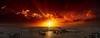 Sun-o-rama (Jörg Bergmann) Tags: 20f17 islascanarias lagomera panorama puestadesol vallegranrey atardecer canarias canaryislands clouds españa gf7 gomera island lumix m43 mft panasonic sky spain stitched sun sunset travel vacation puesta de sol landscape seascape panoramic pano horizon red