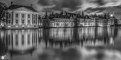 Black and white reflections (Robert Stienstra Photography) Tags: sgravenhage binnenhof denhaag blackandwhite blackandwhitephotography monochrome monochromephotography monochromatic netherlands cityscape cityscapes waterscape waterscapes waterfront reflections reflection mirror hofvijver politiek politics architecture architecturalphotography architectural history historical historicalarchitecture