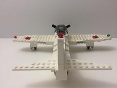Zero back view (TheMachine27) Tags: lego zero wwii japanese fighter airplane mitsubishi military a6m