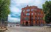 Around Szczecin, Poland (` Toshio ') Tags: toshio szczecin poland polish europe european europeanunion city building police policestation street fujixe2 xe2