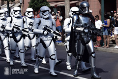 March of the First Order (rook.behr) Tags: disneyworld street forboding outdoorscenescape day roads performance outdoors stormtroopers hollywoodstudios outside scenedesign scenery setdesign setting
