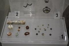 Rome, Italy - Villa Giulia (Etruscan Museum) - Beads (jrozwado) Tags: europe italy italia rome roma villagiulia museum archaeology etruscan jewelry bead