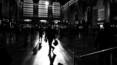 Grand Central Station - New York - Black and white street photography