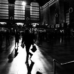 Grand Central Station - New York - Black and white street photography thumbnail