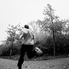 triathlon training (.Till) Tags: triathlon run runner marathon ironman training workout interval phase one tmax film bw fall leaves bielefeld