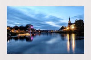 Walk on the riverside, Sablé sur Sarthe - France
