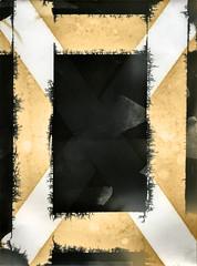 OX (pni) Tags: photogram monochrome maskingtape teatoning selectivetoning experiment teaching education vnf västranylandsfolkhögskola karis karjaa finland suomi pekkanikrus skrubu pni