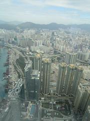 IMG_0577 (Sweet One) Tags: icc sky100 observationdeck view city skyline buildings towers hongkong harbour