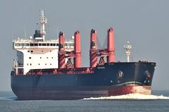 Arkadia (Bernhard Fuchs) Tags: frachtschiff boat nikon schiffe ship ships vessel water cargoships bulker bulk frachtschiffe cargo cuxhaven elbe stückgut stückgutfrachter boot schiff wasser massengutfrachter