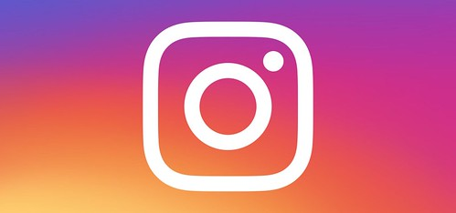 Instagram logo on gradient header by SmedersInternet, on Flickr