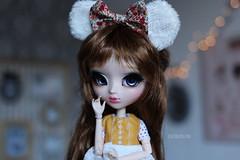 B L U E (Juju DollPassion) Tags: pullip doll custom custo fc fullcusto fullcustom wig monique eyes lullaby bokeh